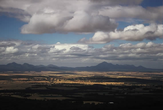 Clouds over the Stirling Ranges